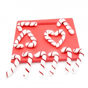 white candy cane